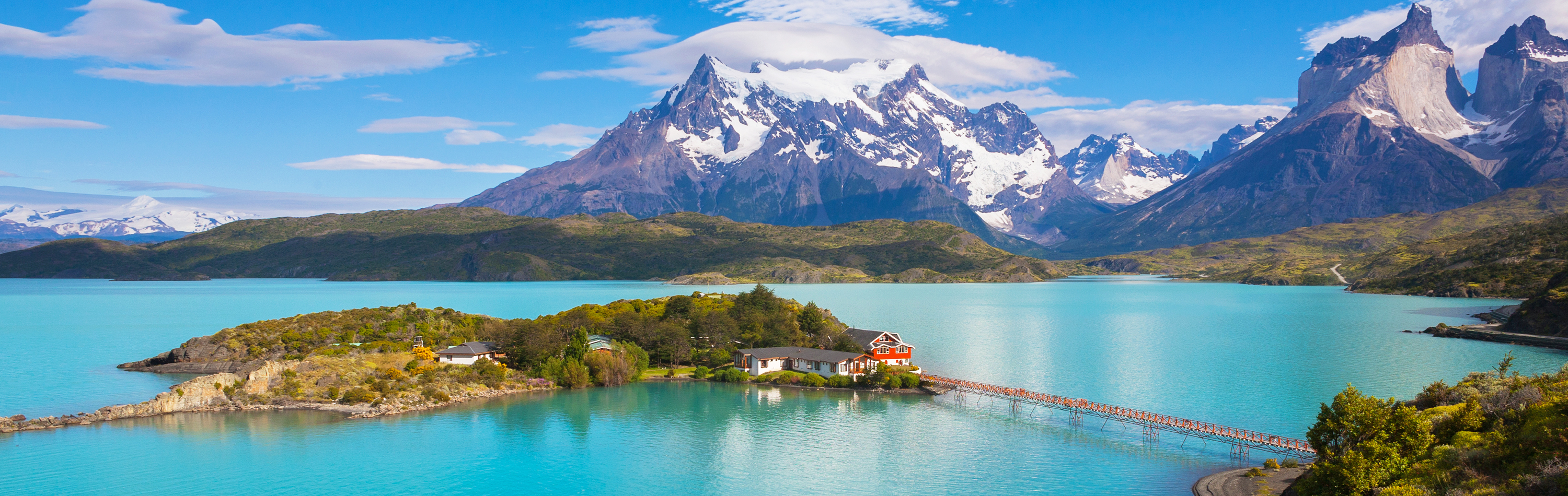 Chile Tour - Pehoe Lake in Patagonia