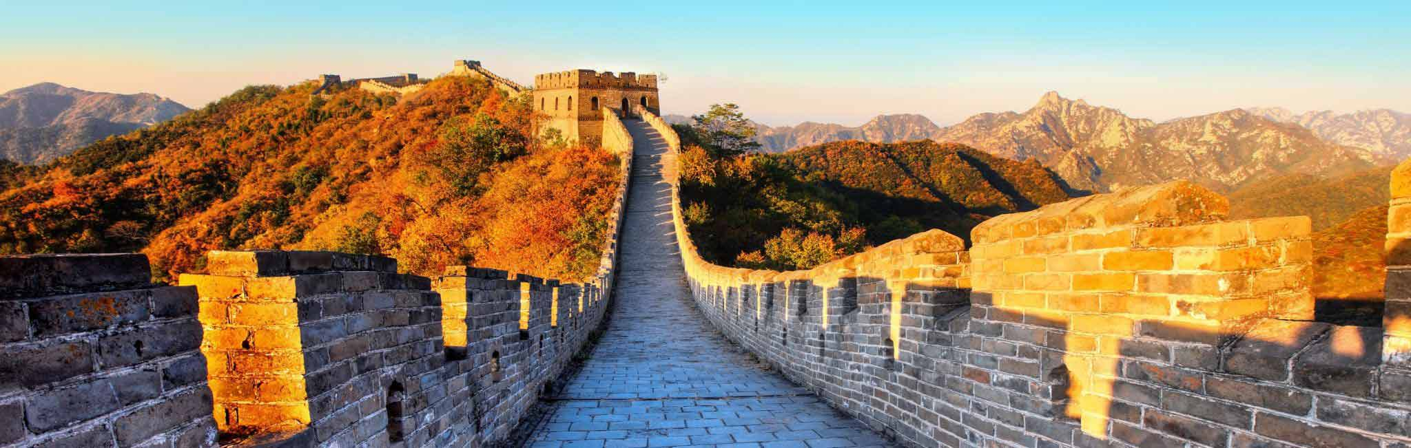 China Tour of The Great Wall in Autumn