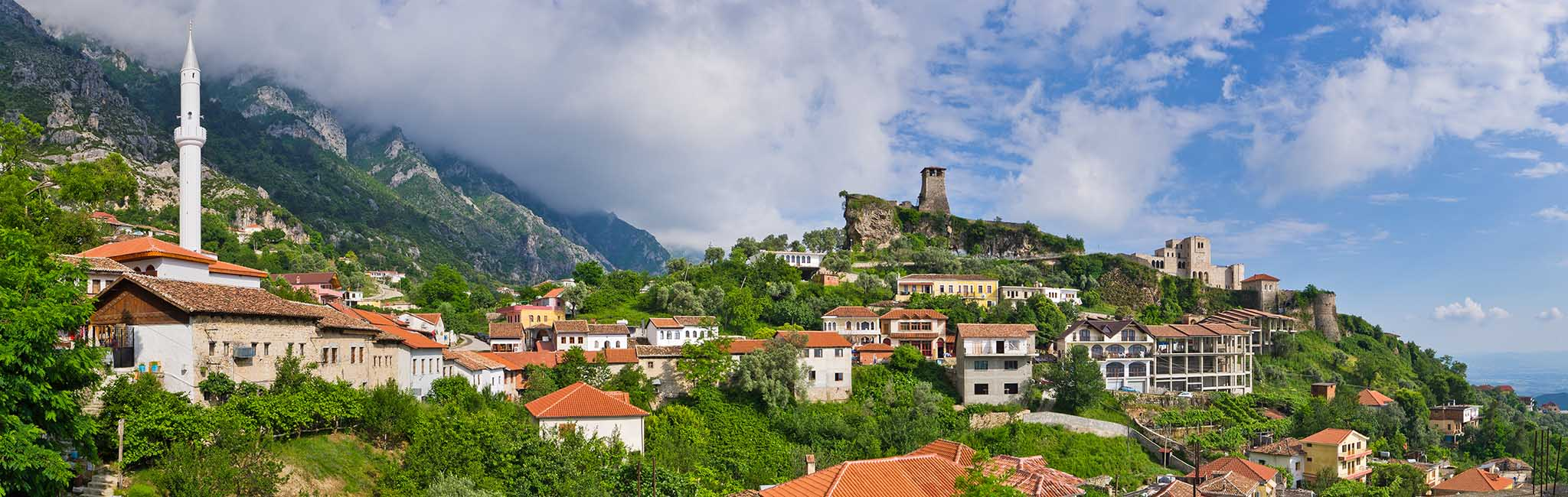 Albania Tour - Kruja Castle in Tirana