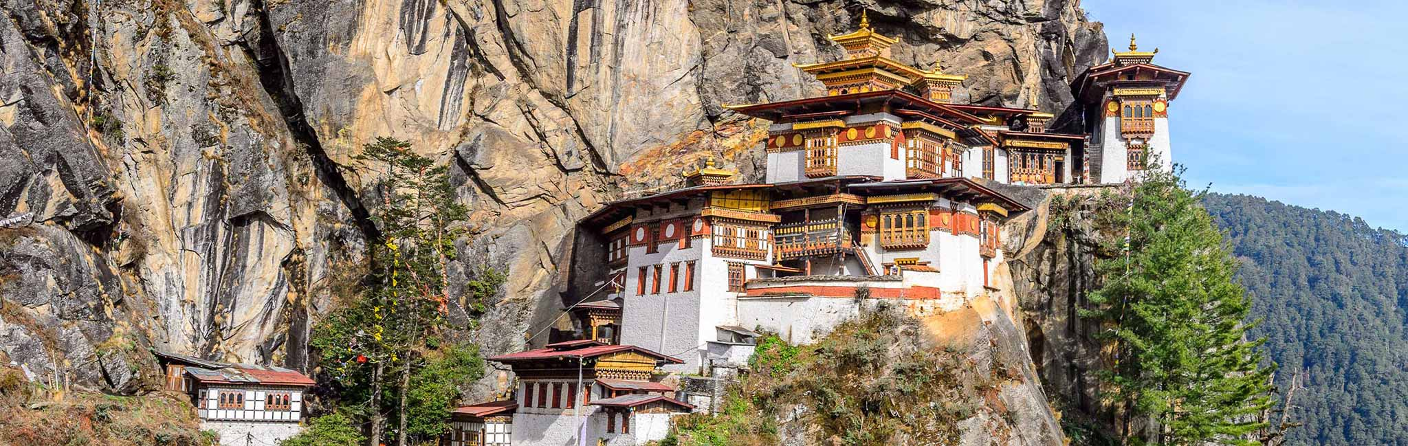 Bhutan Tour of the Paro Valley's Tigers Nest Monastery