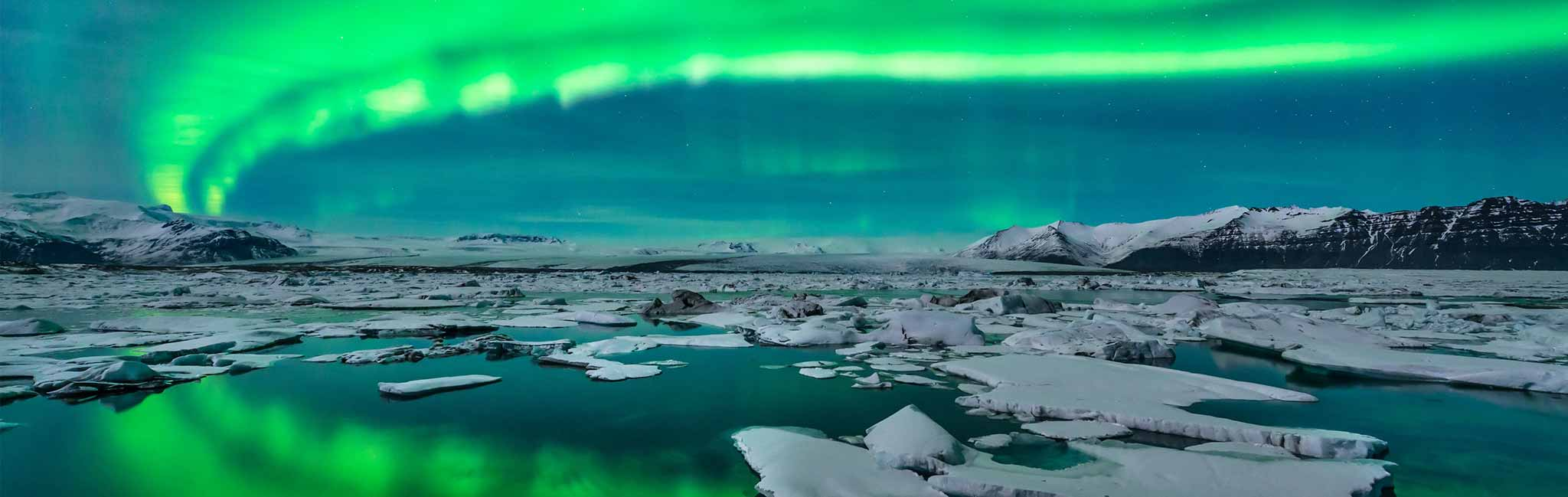 Iceland Tour - view of northern lights