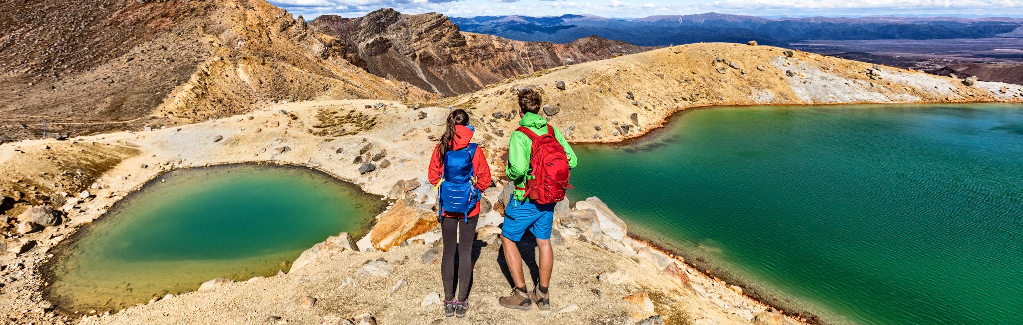 New Zealand Tours - Alpine Crossing in Tongariro National Park
