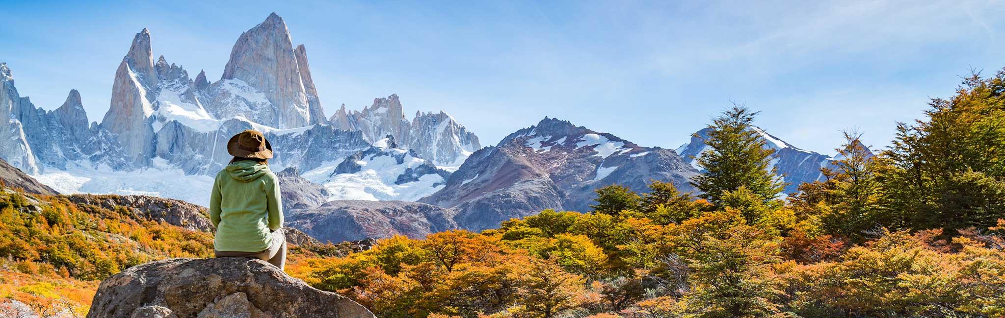 South America Tour - Mountain Views in Patagonia