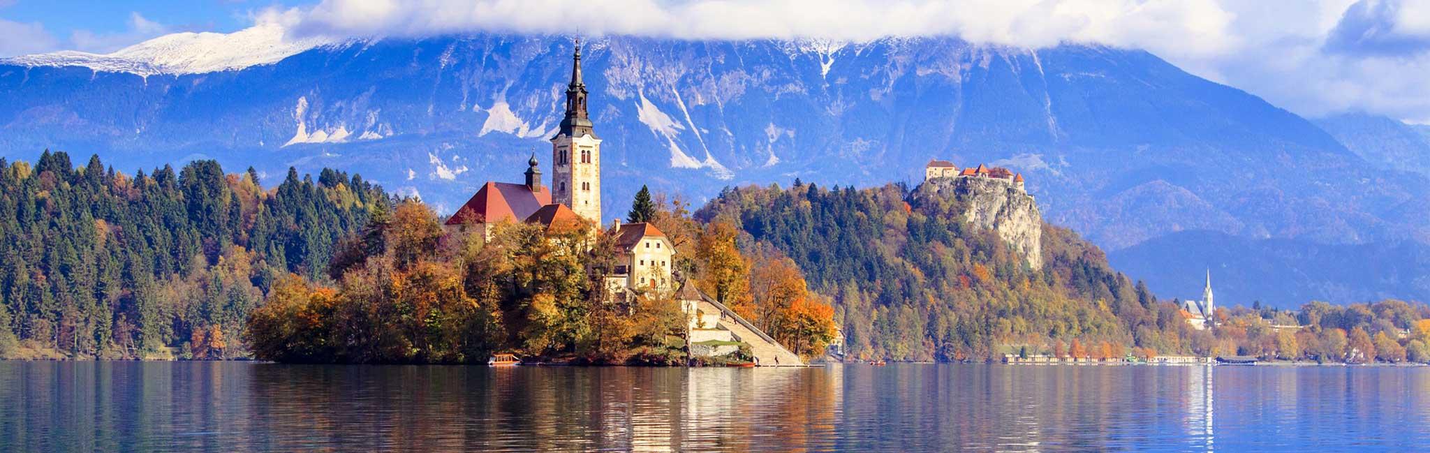 Slovenia Tours - Island Landscape