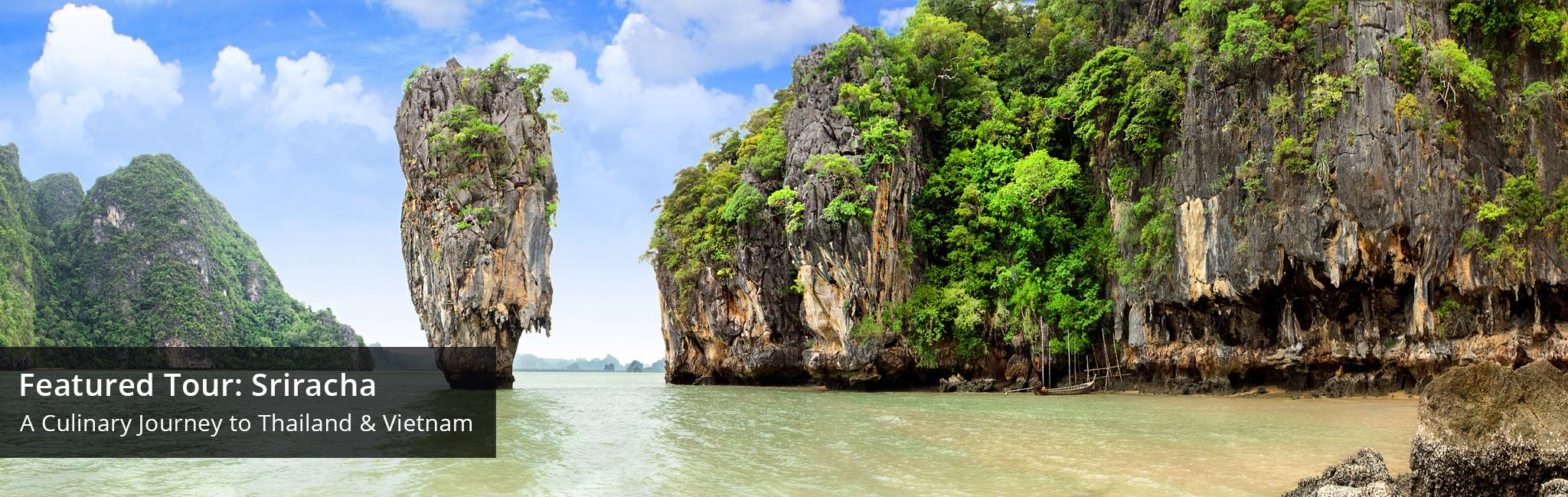 Thailand tour of James Bond Island