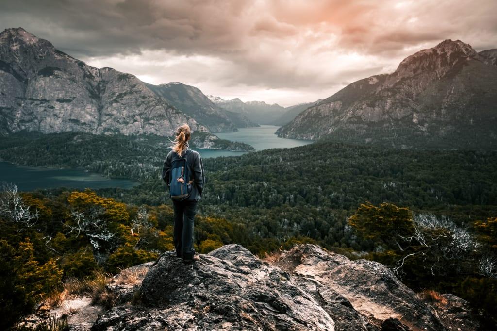 Argentina, bariloche, hiking