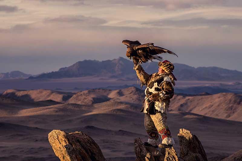 Mongolia Eagle Festival.