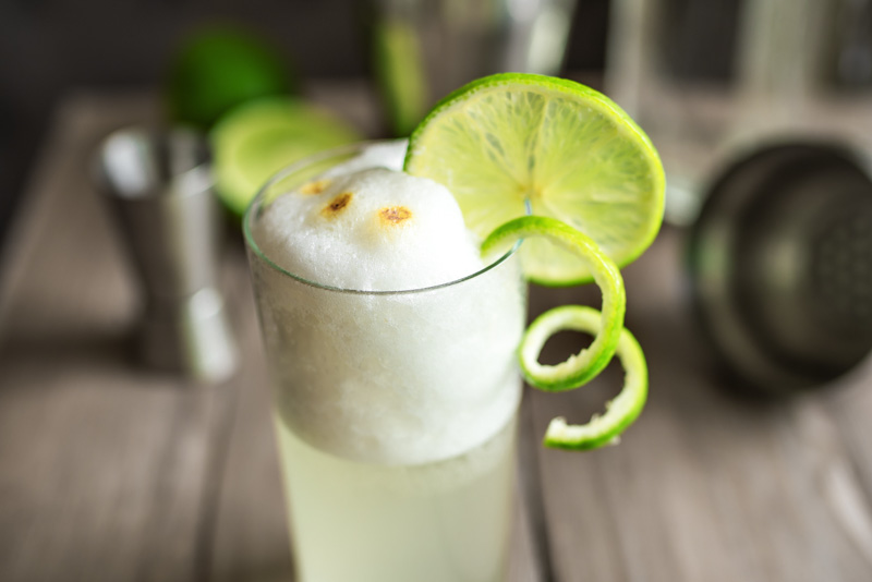 Pisco Sour from Peru.