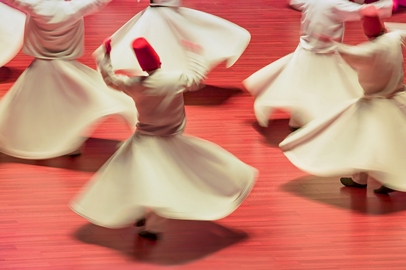 Turkey Tour - Sufi Whirling Dervishes