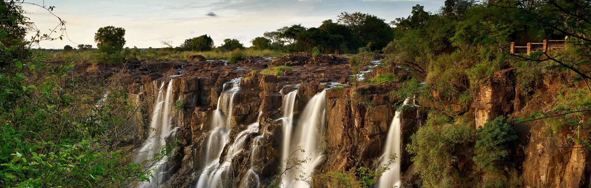 A look at the beautiful Victoria Falls in Zambia.