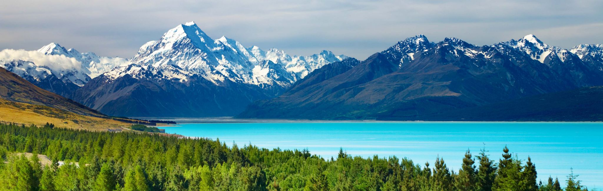 New Zealand offers stunning landscapes at every turn.