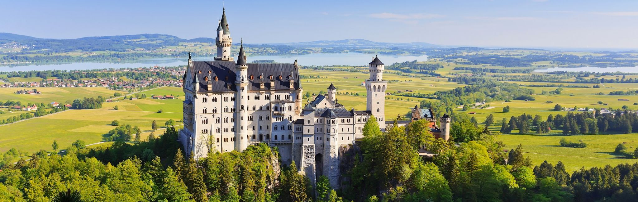 A castle in Bavaria, Germany.