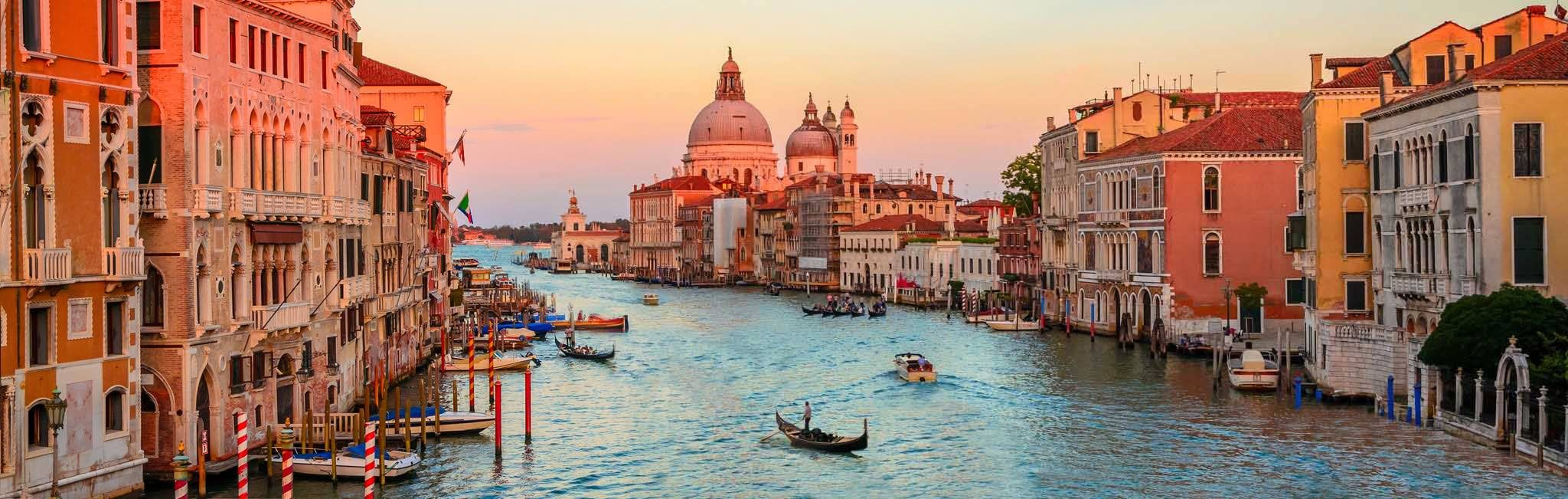 Italy tour of Venice's Grand Canal