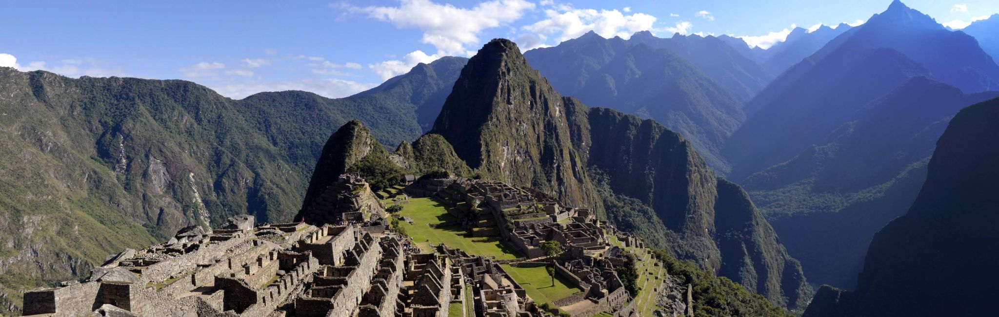 An overlook to the famous civilization of Machu Picchu