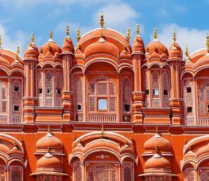 Hawa Mahal palace, Palace of the Winds, in Jaipur, Rajasthan