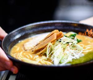 Japan Tour - Waiter Serving Ramen