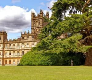 England Highclere Castle from Downton Abbey.