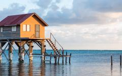 Ambergris caye home in Belize.