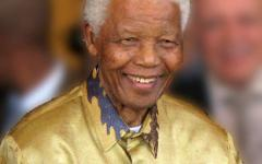 Credit for Mandela photo: South Africa The Good News via Wikimedia Commons
