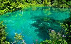 Plitvice lakes in Croatia.