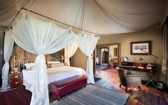 Botswana Duba Plains Suites room interior interior private lounge credit: great plains conservation