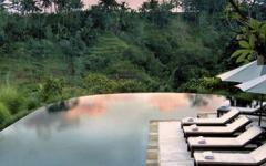 Infinity Pool at Komaneka Resort