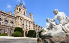 A look at the Natural History Museum in Vienna, Austria.