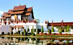 A beautiful setting in Chiang Mai.