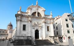 The church of St Blaise in Dubrovnik, Croatia.