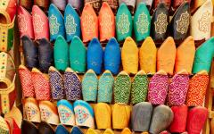 Morocco - Handmade leather slippers
