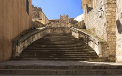 Croatia - Baroque Staircase Dubrovnik