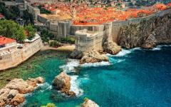 Croatia - Dubrovnik Air View