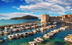 Croatia - Old Town Dubrovnik Pier