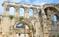 Croatia - Ancient Roman Palace in Split