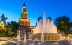 Italy - Milan - Castello - Sforzesco