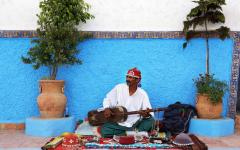 Morocco - Street Performer