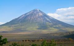 Ol Doinyo Lengai Volcano.