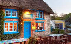 A traditional cottage in Limerick, Ireland.
