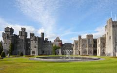 Ashford Castle Hotel in Mayo, Ireland.