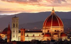 A golden moment in Florence that takes your breath away