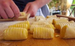 Homemade Gnocci. Photo Credit: Wine Tour Amalfi Coast