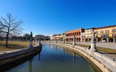 Canal in Padua, Italy