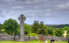 A Celtic Cross in Kilfenora.