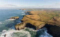 Loop Head Peninsula is situated in West Clare on Ireland's Atlantic coast.