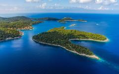 The National Park of Mljet island in Croatia.