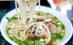 Bowl of pho.