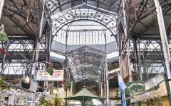 San Telmo indoor market in Buenos Aires.