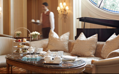 Enjoy a cup of morning tea at Four Seasons Hotel Cairo at The First Residence. Photo by: Four Seasons Hotel Cairo at The First Residence