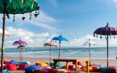 Kuta Beach in Bali.