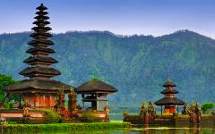 Balinese water temple.